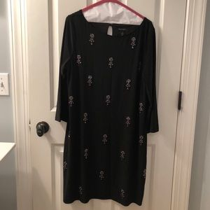 WHBM Cocktail Dress, Black with embellishments, XL